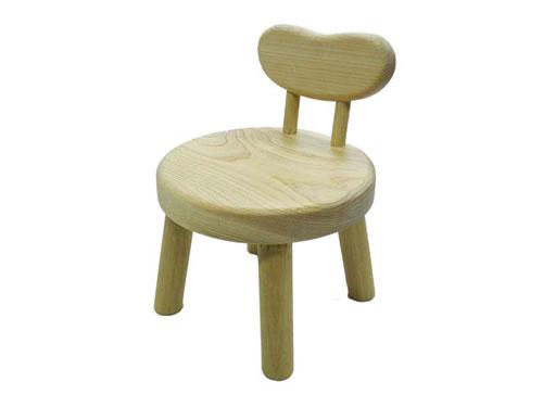 木遊舎 ちびっ子まるイス(背もたれつき)〜木遊舎の自社工房で、ひとつひとつ丁寧に手作りされた日本製の木製キッズチェアです。【ラッピング不可】【代引き決済不可】