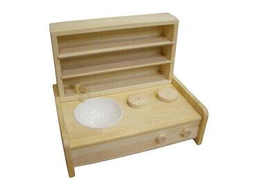 木遊舎 ミニキッチン・棚BOXセット〜木遊舎の卓上タイプの木製ミニキッチンと棚BOXのセットです。【ラッピング不可】【代引き決済不可】
