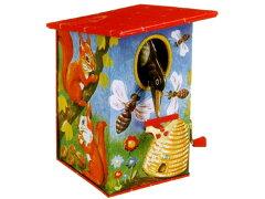 [Goldon ゴールドン社]バーディー貯金箱(鍵付き)〜ノスタルジックなデザインの、ドイツGOLDON社の伝統ある貯金箱です。