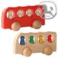 4人のりバス,車のおもちゃくるまミニカー,木製玩具,木のおもちゃ,Konrad,Keller,ケラー社