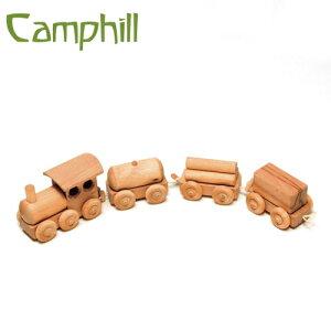 Camphill キャンプヒル 貨物列車〜イギリス、Camphill(キャンプヒル)の天然木で作られた木製の汽車。木目もひとつとして同じものはない世界でひとつの貨物列車です。