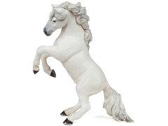 【51521】[PAPO パポ社]蹴り立つ馬(white)〜フランス、PAPO(パポ社)のEquestrianシリーズ、...