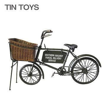 ブリキのおもちゃ(bicycle)(自転車 オートバイ 玩具 置物 インスタ映え オブジェ インテリア小物 レトロ アンティーク 車) 土曜ポイント8倍