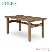 【送料無料】GREENrosemaryダイニングテーブル150ウォールナットR-021(食卓・机・木製・セラウッド塗装)【冬のインテリアフェア】【RCP】【soumu2014】