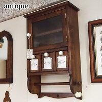 輸入家具壁掛けキッチンラック幅36