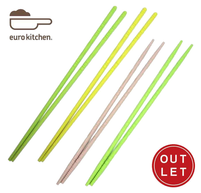 ユーロキッチン eurokitchen シリコン菜箸 (ロングタイプ)【アウトレット オールシリコン】【Z】画像