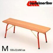 木製折りたたみベンチL120X32cm
