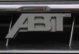 ABT アプト フロントグリルエンブレム マットブラック Audi アウディ Q8 4M80