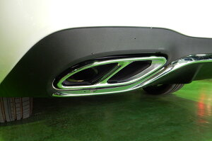 MercedesBenzメルセデスベンツEクラス【W213】AMGE43リアマフラーエンド左右4本出しルック左右2個セット