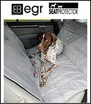 【自動車メーカーRENAULT(ルノー)社のオプションにも採用】egr(イージーアール)SeatProtectorシートプロテクターハンモック[ペット・カーシート・車内用]色はグレー・ベージュお好きな色を選んでください♪