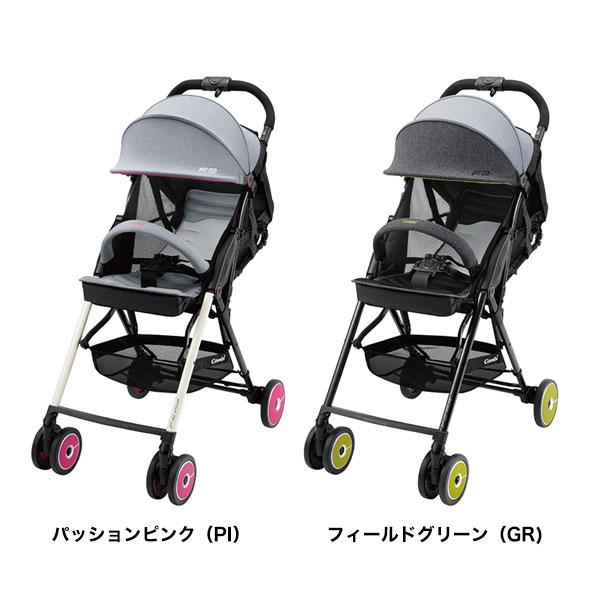 【combi コンビ正規販売店】☆★☆F2plus AJ(※カラー選択)片手でカンタン操作!フルリクライニングバギー