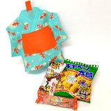 ラッピング袋入りお菓子詰め合わせ 浴衣(ゆかた)金魚柄 1個 (取合せ/詰め合せ/詰合せ)