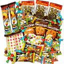 【クリックポスト便で全国送料無料】駄菓子屋さんで売っているチョコ取合せ詰め合わせ55点セット(詰め合せ/詰合せ)の商品画像