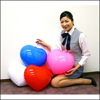 Heart-shaped vinyl balloons plain 35 cm