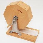 おすすめタイプ木製ガラポン[ガラガラ]福引抽選器 1000球用【玉が飛び跳ねにくい特殊受け皿付】