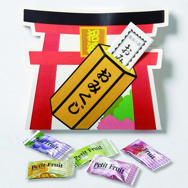 おみくじ付フルーツキャンディー 200袋セット / 景品 粗品 ギフト