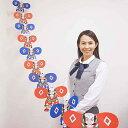 お正月装飾 しめ縄飾り 金俵 H43cm