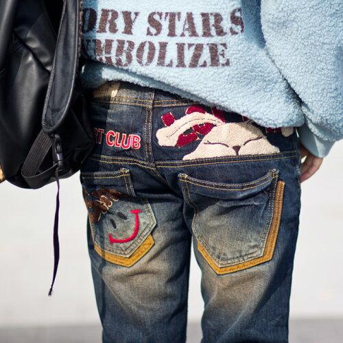 ロリータ ジーンズ LOLITA JEANS 通販 lolita jeans サイズ◆lo-1194ボトム デニム ボ...