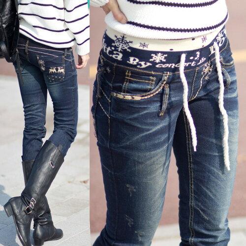 ロリータ ジーンズ LOLITA JEANS 通販 lolita jeans サイズ◆lo-1217ボトム デニム ス...