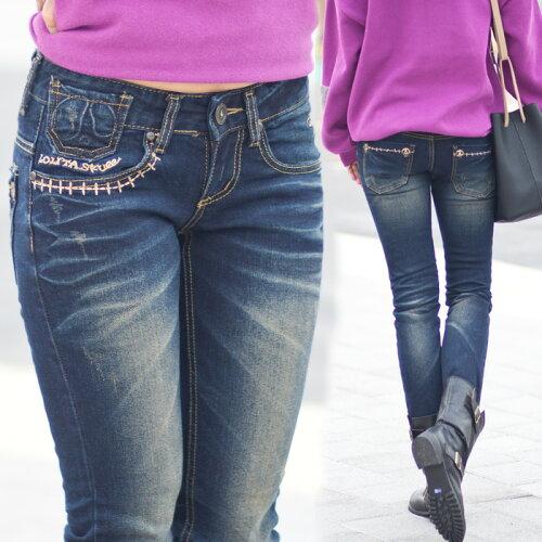 ロリータ ジーンズ LOLITA JEANS 通販 lolita jeans サイズ◆lo-1219ボトム デニム ス...