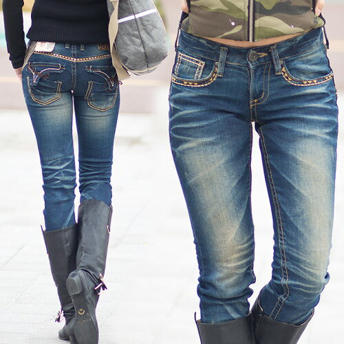 ロリータ ジーンズ LOLITA JEANS 通販 lolita jeans サイズ◆lo-1250ボトム デニム ス...