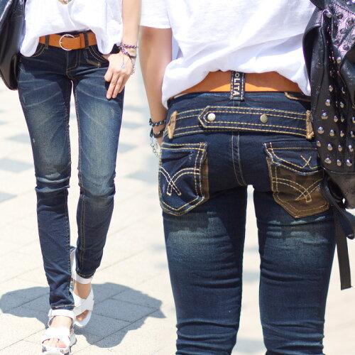 ロリータ ジーンズ LOLITA JEANS 通販 lolita jeans サイズ◆lo-1786ボトム デニム ス...