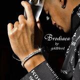 ブレスレット メンズ ブレス ラインストーン キラキラ 派手 B系 クリスタル ジルコニア アクセサリー キュービックジルコニア ゴールド ブランド プレゼント ギフト 記念日 ダイヤ ファッション オシャレ おしゃれ ちょいワル オラオラ系 悪羅悪羅 BITTER系 ビター系
