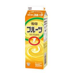 雪印メグミルク 雪印フルーツ 1000ml×6個 【冷蔵】