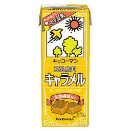 キッコーマン 豆乳飲料 キャラメル  200ml×18個