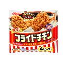 日本水産 フライドチキン 360g ×12袋(送料無料)(冷凍食品)/骨なしチキン /スパイシー /電子レンジ調理 /若鶏もも肉
