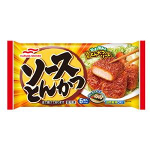 マルハニチロ ソースとんかつ 6個入×10個 【冷凍食品】