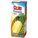Doleパイナップル 200ml紙パック×18本×2ケース【一日分の野菜】【野菜ジュース】 【送料無料】