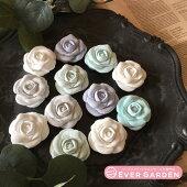 薔薇バラ花シリコンモールドレジンアロマストーンアロマワックスバーアロマワックスサシェ手作り石鹸キャンドル樹脂粘土オルゴナイト型抜き型