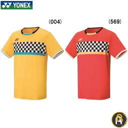 【在庫限り50%OFF!】ヨネックス YONEX ウエア メンズゲームシャツ(フィットスタイル) 10289 バドミントン ソフトテニス