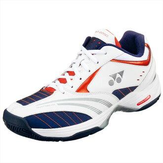 sht-205d優乃克YONEX網球功率靠墊205D POWER CUSHION 205D深藍/柳丁(網球鞋軟式網球鞋優乃克軟式網球)