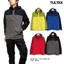 TULTEX マウンテンパーカー メンズ 撥水 ブルゾン ジャケット アウトドア 春 薄手 ブラック レッド グリーン ネイビー 3L
