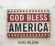 ウッデン ウォール プレート GOD BLESS サインプレート 壁掛け WOODEN WALL DECO PLATE アメリカ アメリカン 看板 カンバン アンティーク