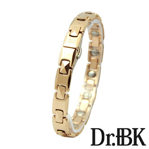 ゲルマニウムタングステン時計型ブレスレット[Bracelet](ピンクゴールド)