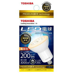 東芝 LED電球 LDR7L-M-E11/D