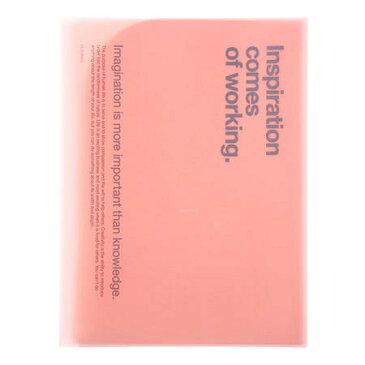 【DELFONICS/デルフォニックス】6ポケットファイルA4ライトピンク
