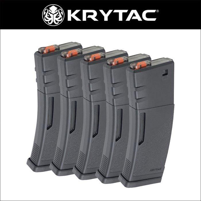 KRYTAC M4 ポリマーマガジン 5本入セット クライタック