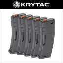 KRYTAC M4 ポリマーマガジン 5本入セット クライタック 4571443162885