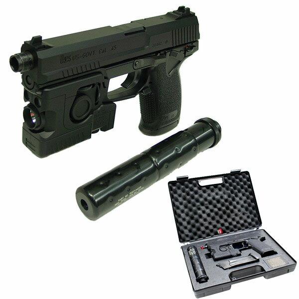 東京マルイ SOCOM ソーコム Mk23 固定スライド フルセット 4952839142139 メタルギアソリッド ソリッドスネーク エアガン エアーガン ガスガン 拳銃 METAL GEAR SOLID 18歳以上 日本製 1219gn