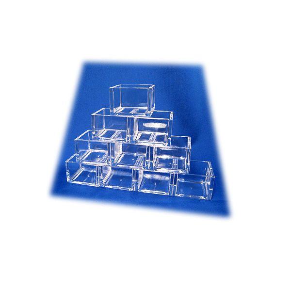 アクリル枡(マス)【小】5勺【透明】10個セットの商品画像