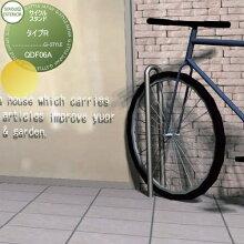 駐輪 車両アイテム セキスイエクステリア Cycle Stand サイクルスタンド【TypeR タイプR】QDF06A スタンド 固定式 セキスイエクステリア セキスイデザインワークス