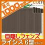 アルミフェンス LIXIL リクシル  【ライシスフェンス3型 フェンス本体 H1000】横桟...