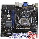 【中古】MSI製 MicroATXマザーボード H61MU-...