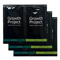【送料無料】【トライアルセット】お使いのスカルプシャンプーに限界が見えたら「毛髪大作戦GrowthProject.アロマシャンプー&アロマコンディショナー」