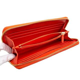 トリーバーチ財布アウトレット長財布39059651TORYBURCHブリテンレザーオレンジ【あす楽】