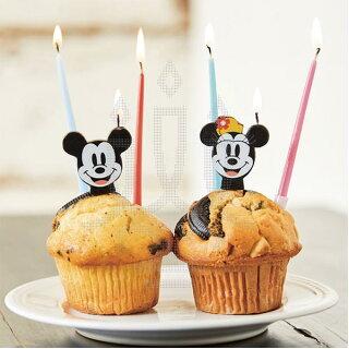 【NEW!!】Disnyディズニーナンバーキャンドル【0〜9】ミッキーミニー全10種類バースデーキャンドルで特別な誕生日を♪【あす楽】